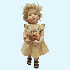 "11.5"" Artist Beatrice Perini Just Like Me Cosetta Doll"