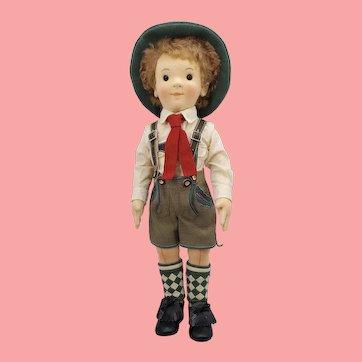 2008 R. JOHN WRIGHT Mathias Steiff Kinder Boy Doll