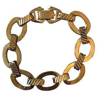 Sarah Coventry Bracelet - Gold Tone
