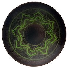 Mid Century-Modern Wall Display Plate from Poole, Part of the Aegean Pottery Collection.