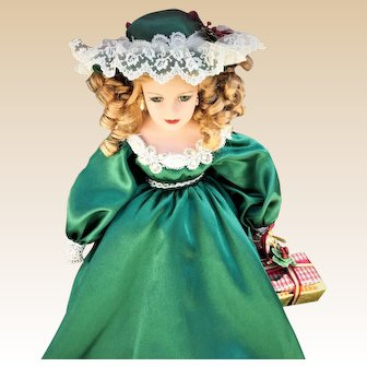 Vintage Effanbee Doll, Limited Edition - ANGELA, a Christmas Beauty