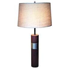 Mid-Century Modern, Danish Teak Table Lamp