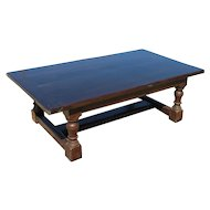 Large Primitive English Two Piece Farmhouse Coffee Table