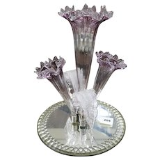 Victorian epergne-Antique Centrepiece  late 19th