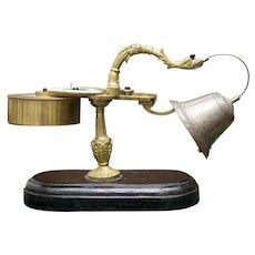 Antique French Rare and unusual small alarm clock, XVIII C.