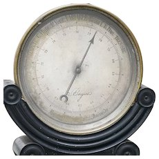 Antique Completely original, very rare 19th century barometer by famous Breguet