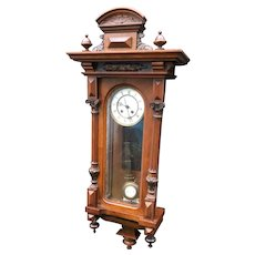 Victorian German Chime Wall Clock