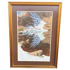 Bev Doolittle Season of the Eagle Hand Signed Limited Ed.