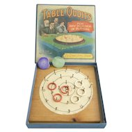 Vintage game TABLE QUOITS early 20th century