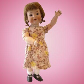 Simon & Halbig 1294 bisque head toddler character doll German circa 1910