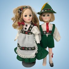 Effanbee Storybook Series - Hansel & Gretel Dolls, 1975