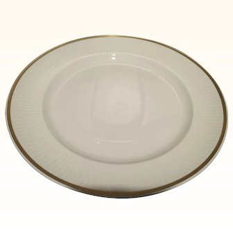 Rare Royal Copenhagen Collecter's Dinner Ribbed Plate Tunna pattern #1277