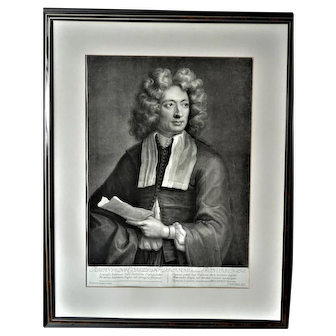 John Smith, after Hugh Howard: portrait of the composer Archangelo Corelli, 1704