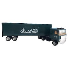 Semi Truck Collectable Vintage Marshall Field's Etrl Metal Truck Number 3131