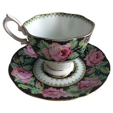 Royal Albert Needlepoint cup