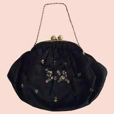 Evening purse, hand made in France in the 1920s - A Romantic  Gift