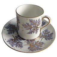 Shelley demitasse cup and saucer c. 1945 -1965