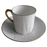 Shelley demitasse cup and saucer c. 1945 - 1966