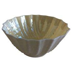Belleek double shell open sugar bowl c. 1946
