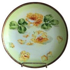 Limoges Coronet Plate