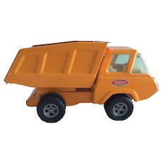 "Tonka yellow steel dump truck c. 1960s ""As New"""