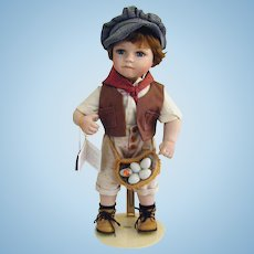 "KINGSTATE The Dollcrafter- ""JIMMY""- In Orig Box, Tags- w Stand"