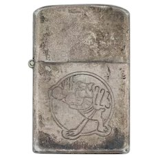 WWII Lighter Case - Sterling Marine Squadron 223 Bulldogs Guadalcanal