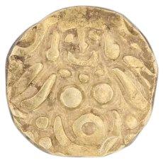 Muhammad bin Sam Gold Dinar 16k Gold Coin 1193-1206 Lakshmi Ghorids Sultanate