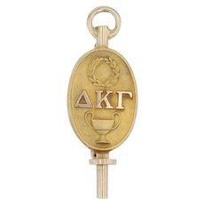 Delta Kappa Gamma Badge - 10k Gold Women's Society Teaching Education Pin 1929