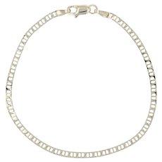 "Mariner Chain Bracelet 7"" - 14k Yellow Gold 2.5mm Italian Lobster Clasp"