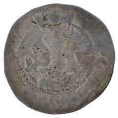 Sasanian Empire Ancient Drachm Persian Coin - Kavadh I 488-531 Silver Collectors