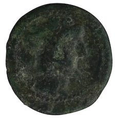 Ancient Greek Coin 18731 BC Copper Dionysus AE Colletors