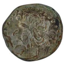 Ancient Silver Coin Roman Empire Vologases I 5178 AD AR Diobol Parthia RARE