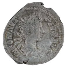 Ancient Silver Coin Roman Empire Caracalla 198217 AR Denarius