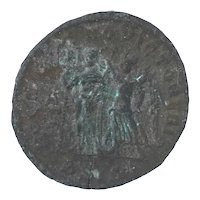 Ancient Roman Empire Coin AE Centenionalis 337361 AD Constantius II Sisca Mint
