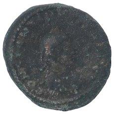 Ancient Roman Empire Copper Coin 317337 AD Constantine II Thessalonika Mint