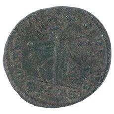Ancient Greek Empire Copper Coin 308324 AD AE Follis Licinius I Thessalonika