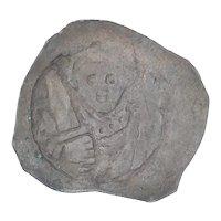 Ancient Bavarian Empire Coin 12551290 AD Duke Heinrich I Pfennig Silver