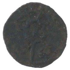 Ancient Roman Empire Coin 11301154 AD Sicily Norman Roger II Mezzo Follero