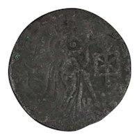 Ancient Gondophares Coin IndoParthian Kingdom Aspavarma Tetradrachm Rare
