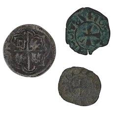 Ancient Roman Coin Lot Rare Ravenna Denaro Archepisco