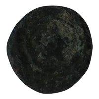 Ancient Indian Coin Unaggads Jerusalem Pentalpha Greek