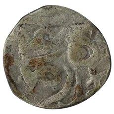 Ancient Indian Jital Coin Rare 12121235 Arabic