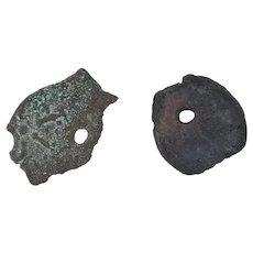 Ancient Alexander Jannaeus Coins 103-76 BC Hasmonean Judea Lepton Widow's Mite