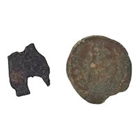 Ancient Alexander Jannaeus Herod Coins Hasmonean Judea Lepton Prutah 103-76 BC