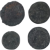 Ancient Coins Roman Artifacts Figural Mixed Lot of 4 B7279