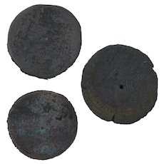 Ancient Coins Roman Artifacts Figural Mixed Lot of 3 B7280