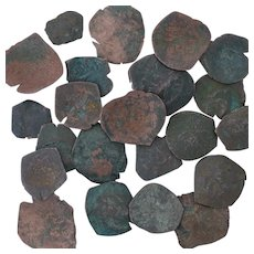 Ancient Coins Roman Artifacts Figural Mixed Lot of 22 B7312