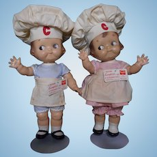 1930s Original Campbell Soup Kids dolls
