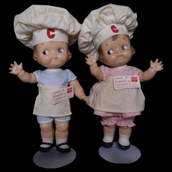 1930s Original Campbell Soup Kids dolls
